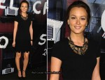 Chanel Soho Boutique Re-Opening - Leighton Meester In Chanel