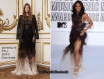 2010 MTV VMAs - Ciara In Givenchy Couture