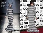2010 GQ Men Of The Year Awards - Daisy Lowe In Gareth Pugh