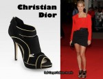 In Virginie Efira's Closet - Christian Dior Wave Ankle Boots