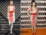 """Be Cointreauversial"" Show - Dita von Teese In Jenny Packham"