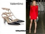 In Dree Hemingway's Closet - Valentino Studded Pumps