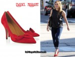 In Hilary Duff's Closet - Isabel Marant Poppy Suede Pumps