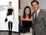 "Perry Ellis and Vanity Fair Celebrate ""The Office"" - Emily Blunt In Giambattista Valli"