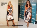 Variety's 2nd Annual Power Of Women Luncheon - Eva Mendes In Salvatore Ferragamo