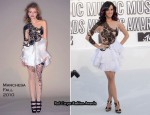 2010 MTV VMAs - Katy Perry In Marchesa