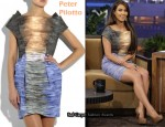 In Kim Kardashian's Closet - Peter Pilotto Printed Dress