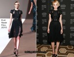"""Never Let Me Go"" New York Premiere & Press Conference – Carey Mulligan In Elie Saab & Vionnet"