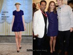 Hollywood Foreign Press Asscociation Cocktail Party - Natalie Portman In Jason Wu