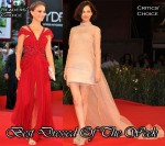 Best Dressed Of The Week - Natalie Portman In Rodarte & Kiko Mizuhara In Valentino Couture