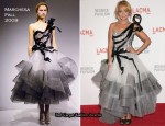 LACMA Presents 'The Unmasking' – Nicole Richie In Marchesa
