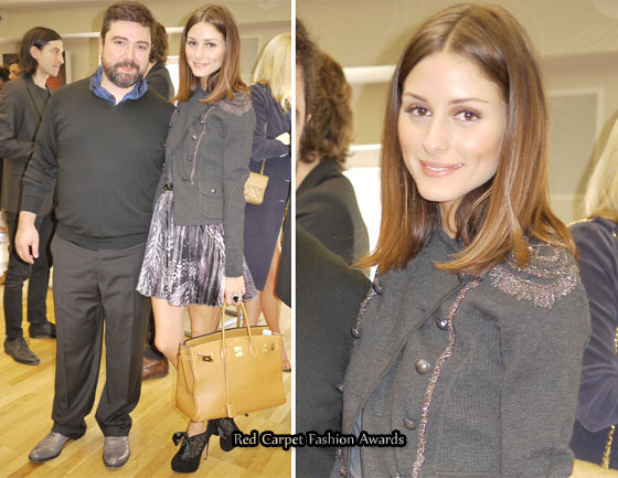 olivia palermo fashion style. Olivia Palermo is seen here