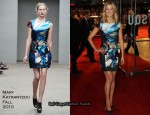 """Made In Dagenham"" London Premiere – Rosamund Pike In Mary Katrantzou"