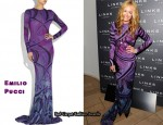 In Cat Deeley's Closet - Emilio Pucci Printed Jersey Fishtail Gown