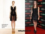 """The Town"" Dublin Premiere - Rebecca Hall In Givenchy"