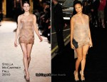 Fashion's Night Out At Armani London – Thandie Newton In Stella McCartney