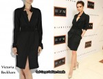 In Victoria Beckham's Closet - Victoria Beckham Trench-Style Dress