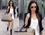 Victoria Beckham Carries A Goyard Overnight Bag