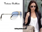 In Victoria Beckham's Closet - Victoria Beckham Metal-Framed Aviator Sunglasses
