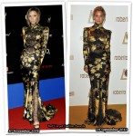 Who Wore Roberto Cavalli Better? Victoria Beckham or Bar Refaeli