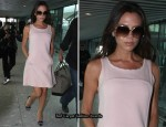 Airport Style - Victoria Beckham In Vintage Courreges
