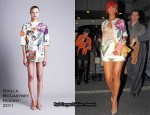 Runway To Sidewalk – Rihanna In Stella McCartney & Prada