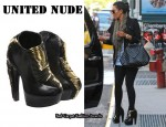 In Kim Kardashian's Closet - United Nude 'Iris' Shoes