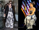 Democratic National Committee Fundraiser - Sarah Jessica Parker In Vintage Givenchy Couture