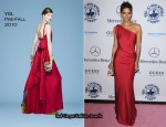 Halle Berry In YSL - 32nd Anniversary Carousel of Hope Gala