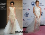 Jennifer Lopez In Georges Chakra Couture & Zuhair Murad Couture - 32nd Anniversary Carousel of Hope Gala