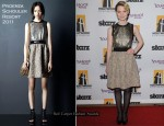 Mia Wasikowska In Proenza Schouler - 14th Annual Hollywood Awards Gala