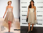 Eva Mendes In Lela Rose - Glamour Reel Moments