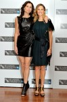 "2010 London Film Festival ""Conviction"" Photocall - Minnie Driver & Hilary Swank In Lanvin"
