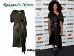 In Corinne Bailey Rae's Closet - Roksanda Ilincic Arisha Silk-Satin Dress