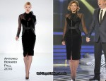 X Factor: Sunday Week 2 – Dannii Minogue In Antonio Berardi