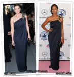 Who Wore Monique Lhuillier Better? Kim Cattrall or Garcelle Beauvais