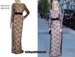 In Gwyneth Paltrow's Closet – Antonio Berardi Velvet-Trimmed Lace Gown