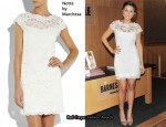 In Lauren Conrad's Closet - Notte by Marchesa Lace Sheath Dress
