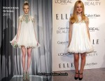 17th Annual ELLE Women In Hollywood Tribute Event - Elle Fanning In Marchesa
