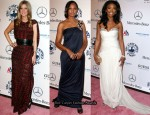 Nicky Hilton In Missoni, Garcelle Beauvais In Monique Lhuillier & Brandy In Nicole Miller – 32nd Annual Carousel Of Hope Ball