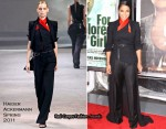 "Janet Jackson In Haider Ackermann - ""For Colored Girls"" New York Premiere"