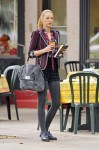 On The Gossip Girl Set With Blake Lively Carrying A Be & D Genesis Satchel