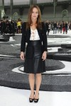 Vanessa Paradis Front Row @ Chanel Spring 2011