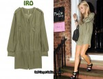 In Alex Curran's Closet - IRO Silk Playsuit
