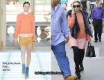 Runway To Sidewalk - Ashley Olsen In Balenciaga