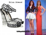 In Cheryl Cole's Closet - Brian Atwood Balleto Platform Sandals
