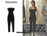 In Cheryl Cole's Closet - Azzaro Bow Accented Jumpsuit