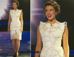 2010 X Factor: Saturday Week 1 - Dannii Minogue In J'Aton Couture