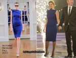 X Factor: Saturday Week 3 – Dannii Minogue In Victoria Beckham Collection