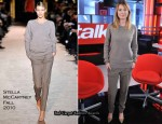 eTalk Studios - Ellen Pompeo In Stella McCartney